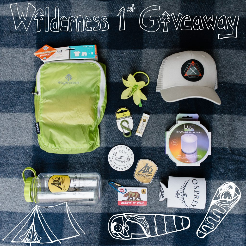 Shoestring Warrior Wilderness 1st Giveaway